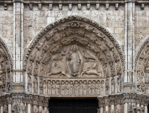 Chartres cathedral - tympanum