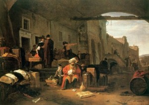 Merchants_from_Holland_and_the_Middle_East_trading.